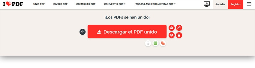 Descargar archivo PDF unido